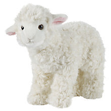Buy Living Nature Large Lamb Soft Toy Online at johnlewis.com