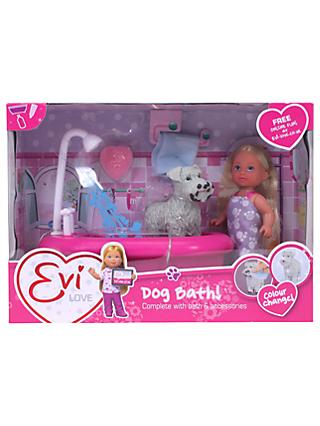 Evi Dog Bath Playset