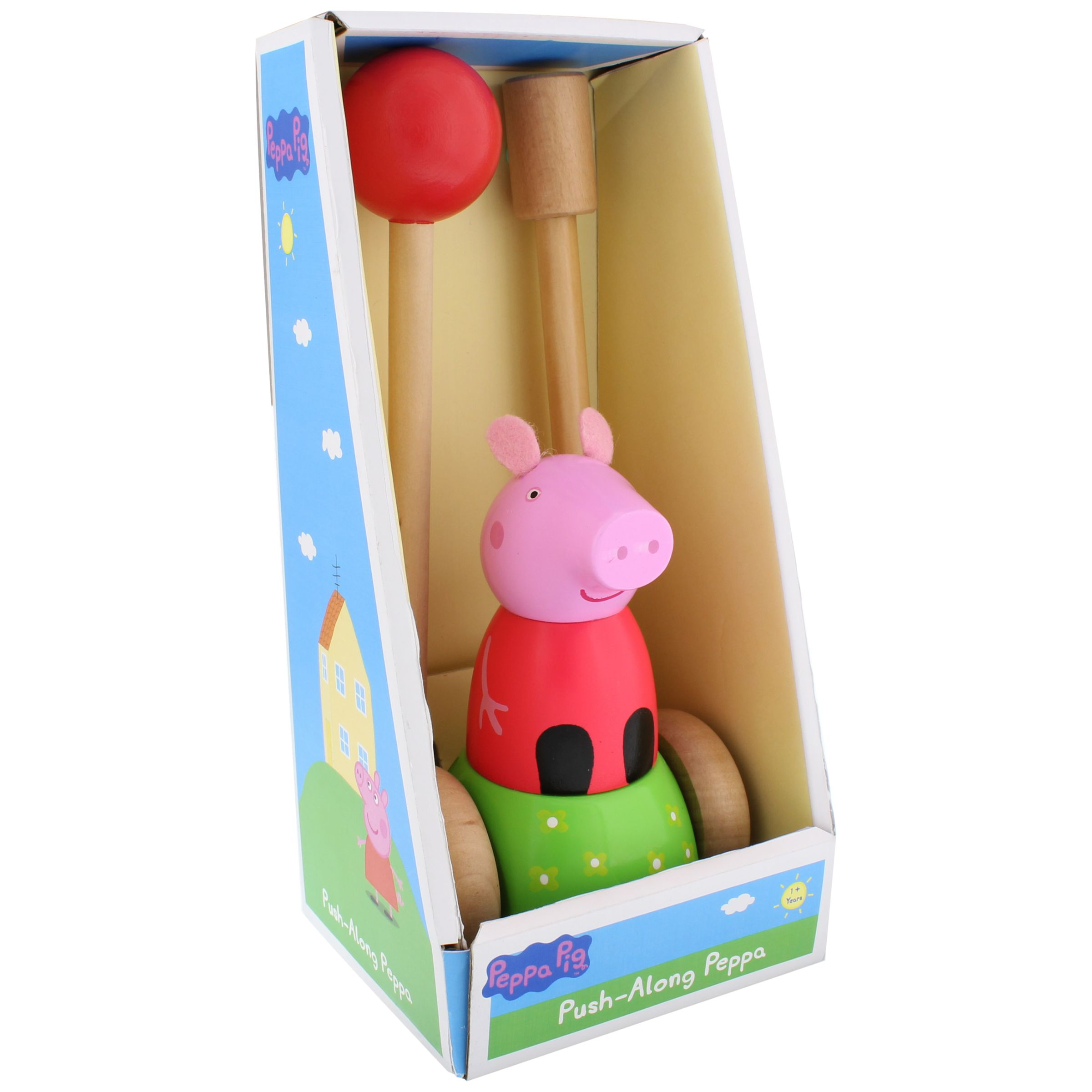 Peppa Pig Peppa Pig Wooden Push Along Peppa