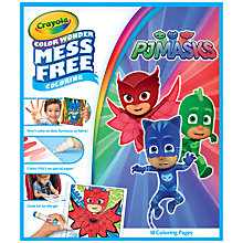 Buy PJ Masks Colour Wonder Colouring Book Online at johnlewis.com