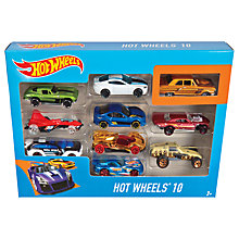 Buy Hot Wheels Character Cars, Pack of 10, Assorted Online at johnlewis.com