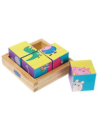 Peppa Pig Wooden Puzzle Blocks