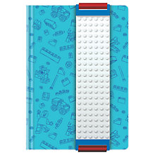 Buy LEGO Journal with Binder, Blue Online at johnlewis.com