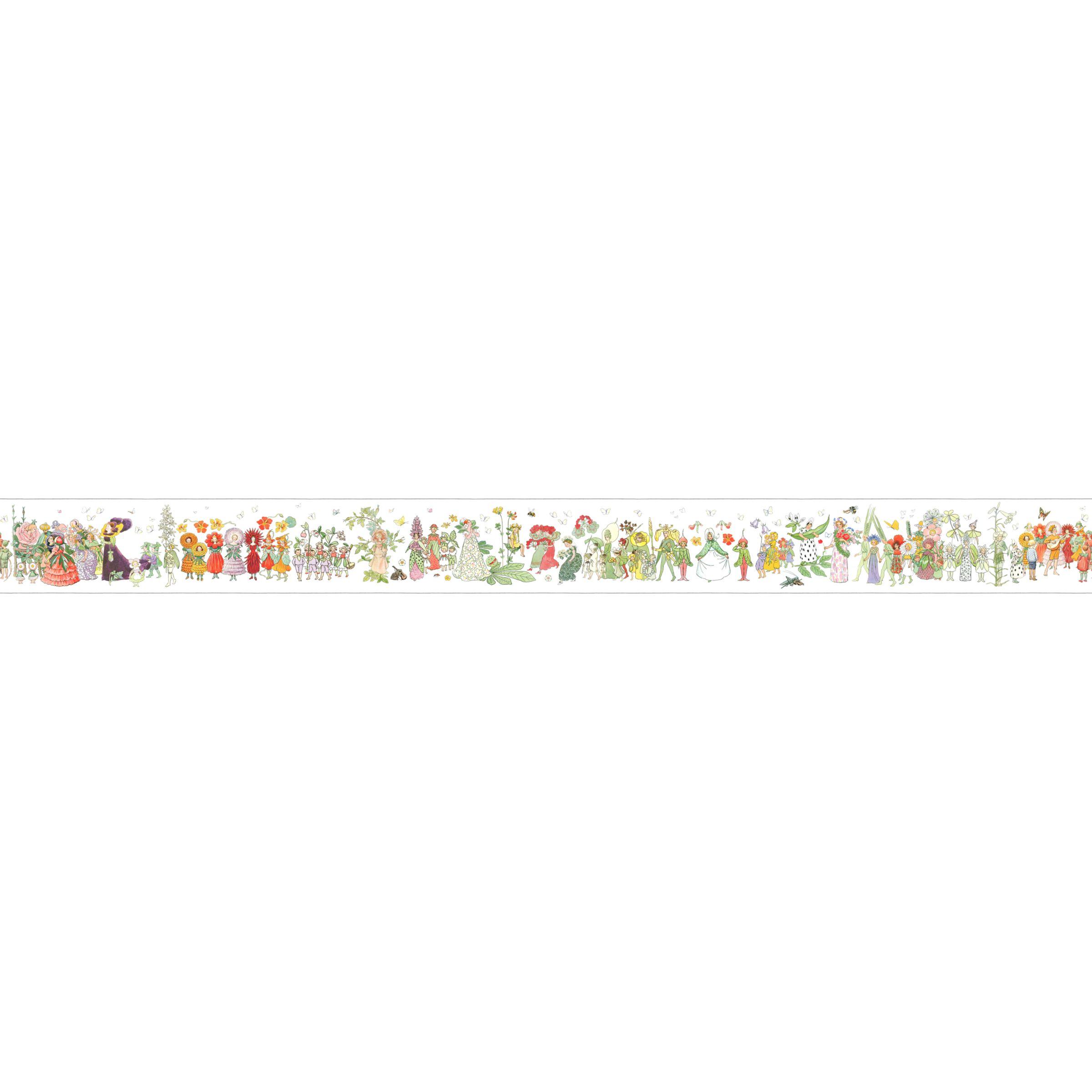Blomsterparaden Wallpaper Border, 6280 ...