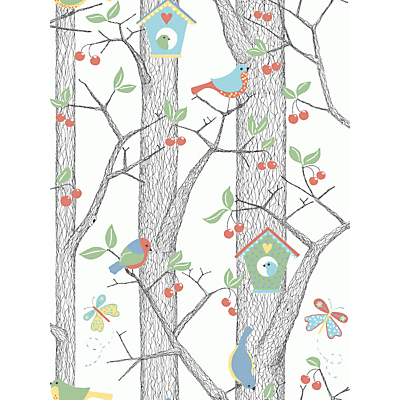 Image of Boråstapeter Cherry Friends Wallpaper
