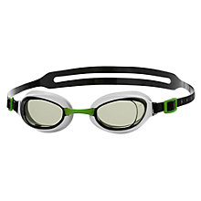 Buy Speedo Aquapure Mirror Swimming Goggles, White Online at johnlewis.com