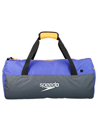 Speedo Duffel Bag, Grey/Blue