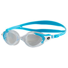 Buy Speedo Futura Biofuse Flexiseal Women's Swimming Goggles, Turquoise/Clear Online at johnlewis.com