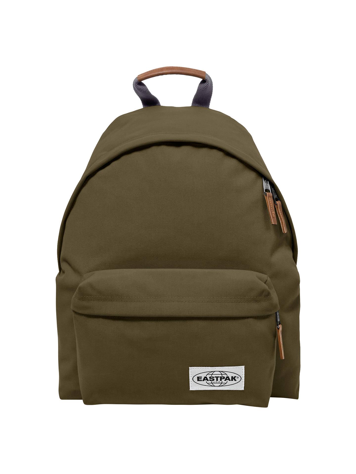 ba3f5cd959b Buy Eastpak Padded Pak'r Backpack, Opgrade Green Online at johnlewis. ...