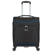 Buy Antler Zeolite C1 55cm 4-Wheel Cabin Case, Black Online at johnlewis.com