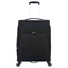 Buy Antler Zeolite 66cm 4-Wheel Medium Suitcase, Black Online at johnlewis.com