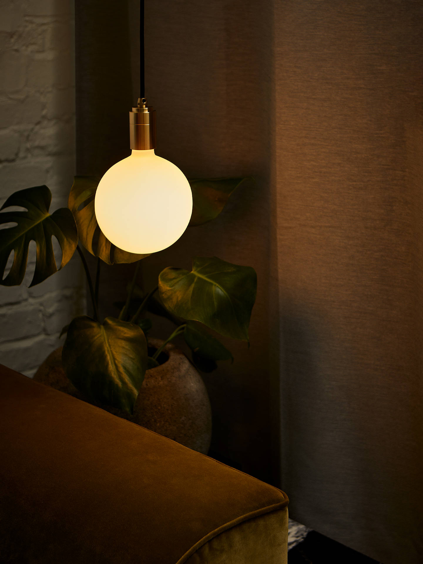 BuyTala LED Brass Ceiling Pendant Cord, Brass Online at johnlewis.com