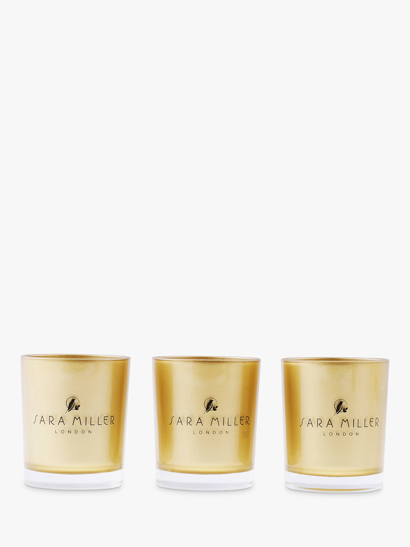 Buy Sara Miller Mini Scented Candle Gift Set Online at johnlewis.com