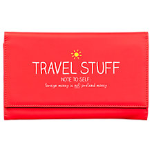 Buy Happy Jackson 'Travel Stuff' Travel Wallet Online at johnlewis.com
