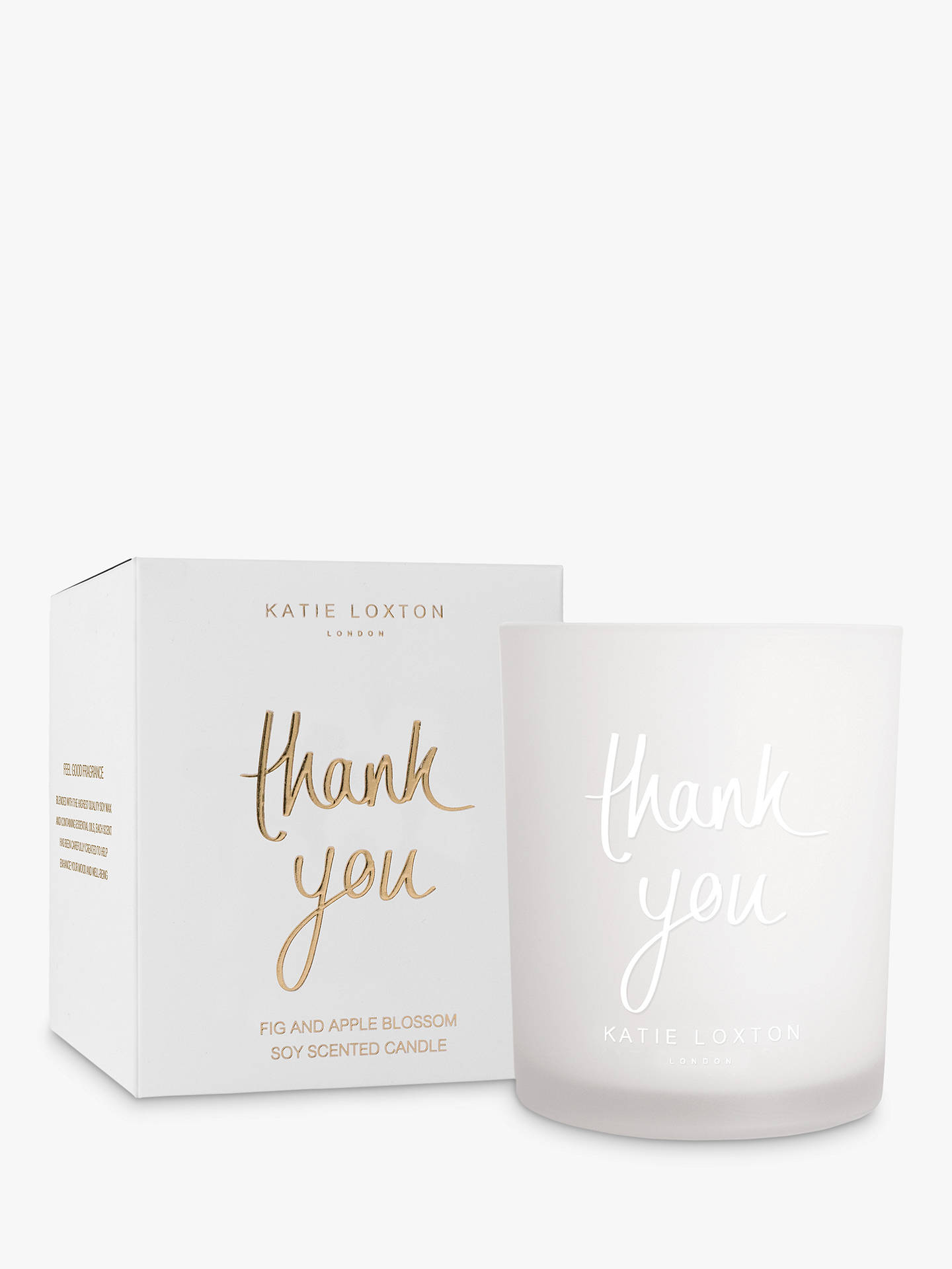 795981e8b5 Buy Katie Loxton Thank You Scented Candle Online at johnlewis.com ...