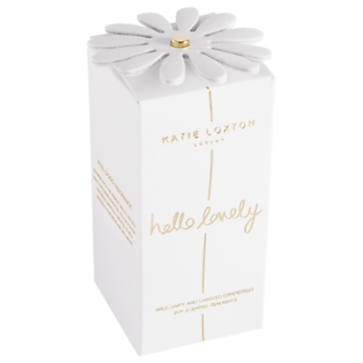 Katie Loxton 'Hello Lovely' Wild Daisy and Grapefruit Scented Tealights, Pack of 6