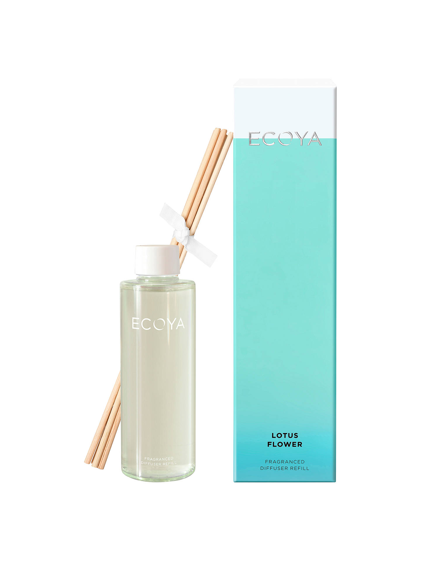 Ecoya Lotus Flower Diffuser Refill 200ml At John Lewis Partners