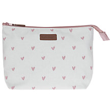 Buy Sophie Allport Hearts Canvas Wash Bag Online at johnlewis.com