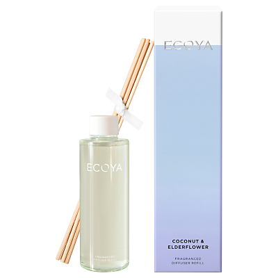 Ecoya Coconut & Elderflower Diffuser Refill, 200ml