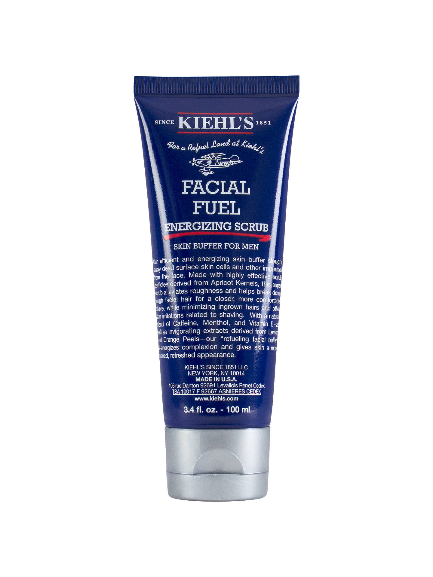 Buy Kiehl's Facial Fuel Energising Scrub, 100ml Online at johnlewis.com