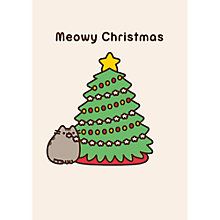 Buy Hype Pusheen Christmas Tree Card Online at johnlewis.com