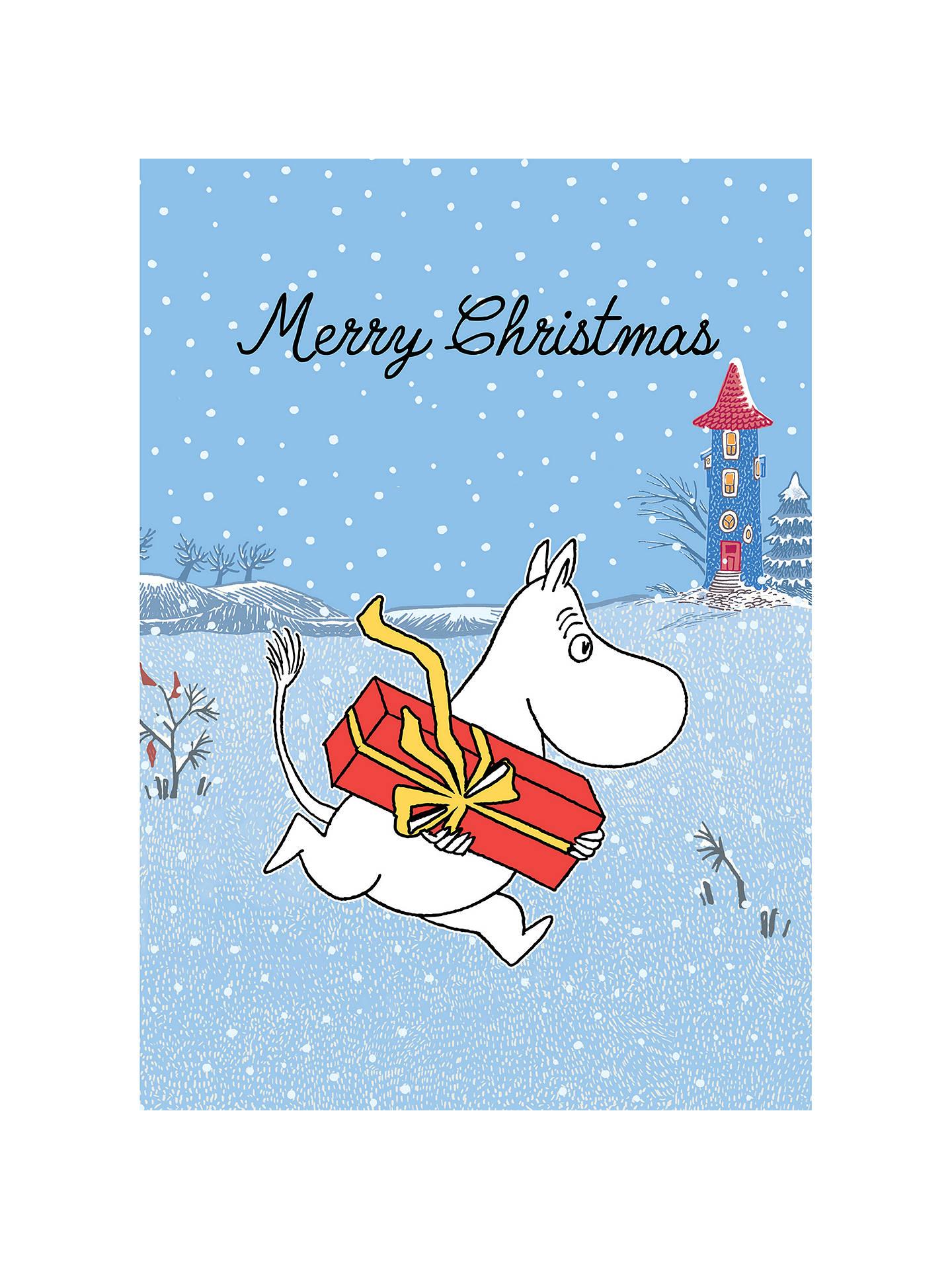 Hype Moomin Merry Christmas Card at John Lewis & Partners