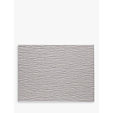 Buy Chilewich Lattice Woven Rectangular Placemat, Silver Online at johnlewis.com