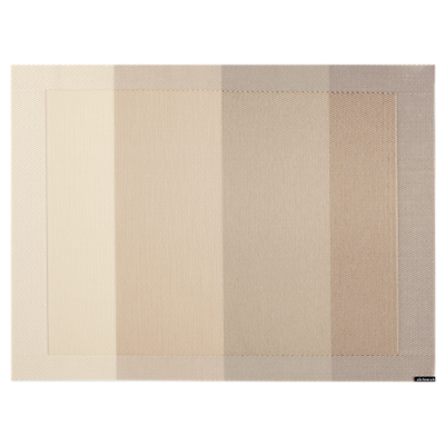 Chilewich Tempo Rectangular Placemat, Ivory
