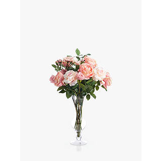 Pink peony artificial flowers plants john lewis quick view mightylinksfo
