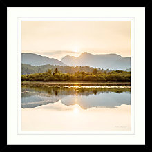 Buy Mike Shepherd - Peaceful Moment Framed Print, 55 x 55cm Online at johnlewis.com