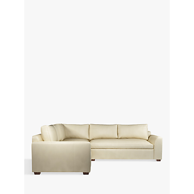 John Lewis & Partners Tortona Leather Corner Sofa