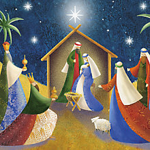 Buy Paper House The Nativity Christmas Card Online at johnlewis.com