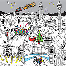 Buy Portfolio Christmas In London Town Card Online at johnlewis.com