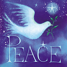 Buy Paper House Dove Of Peace Christmas Card Online at johnlewis.com