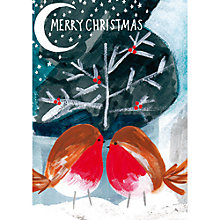 Buy Paper Salad Merry Christmas Robin Card Online at johnlewis.com