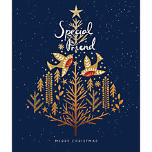 Buy Woodmansterne Special Friend Christmas Card Online at johnlewis.com