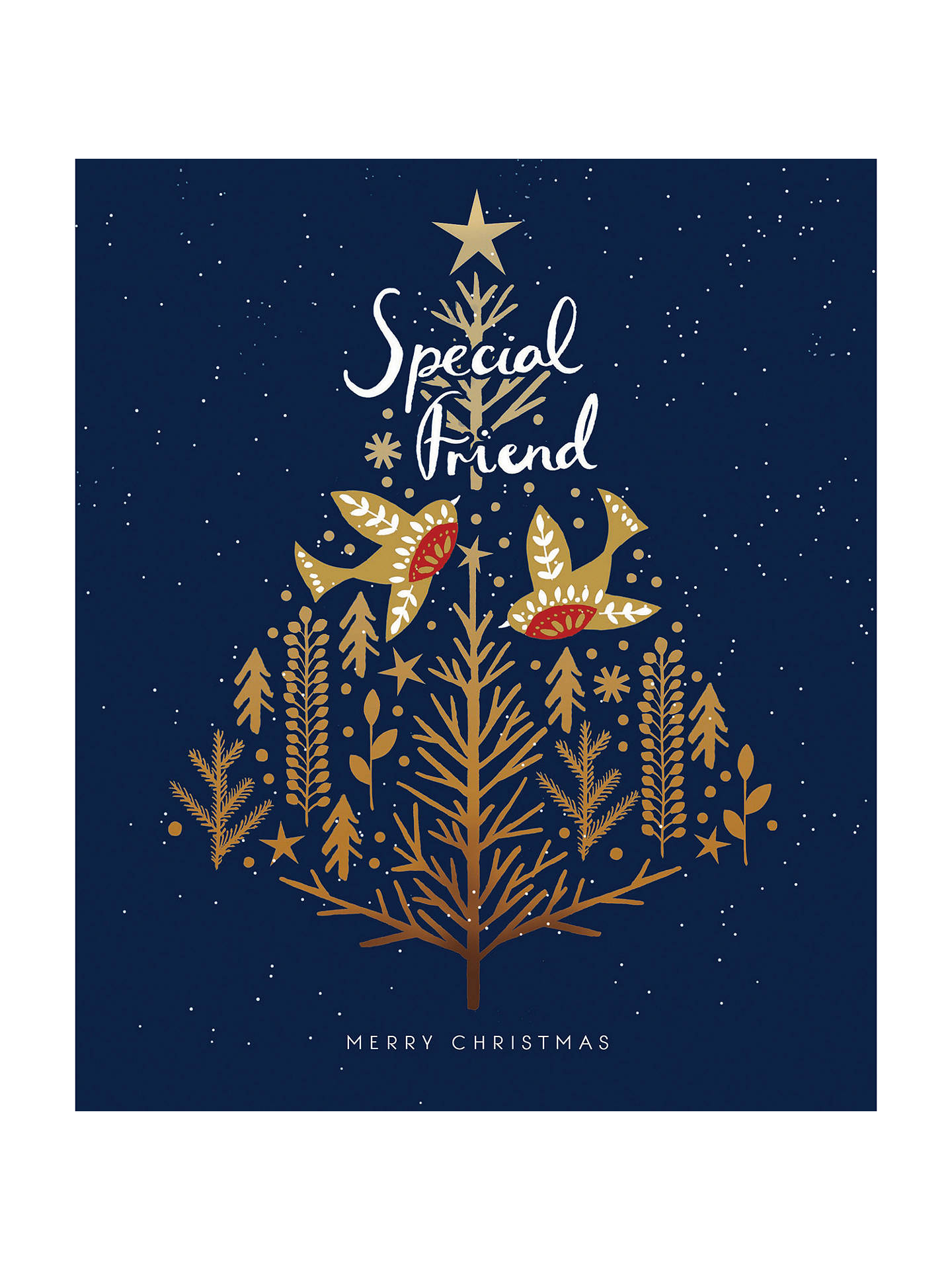 Woodmansterne Special Friend Christmas Card At John Lewis Partners