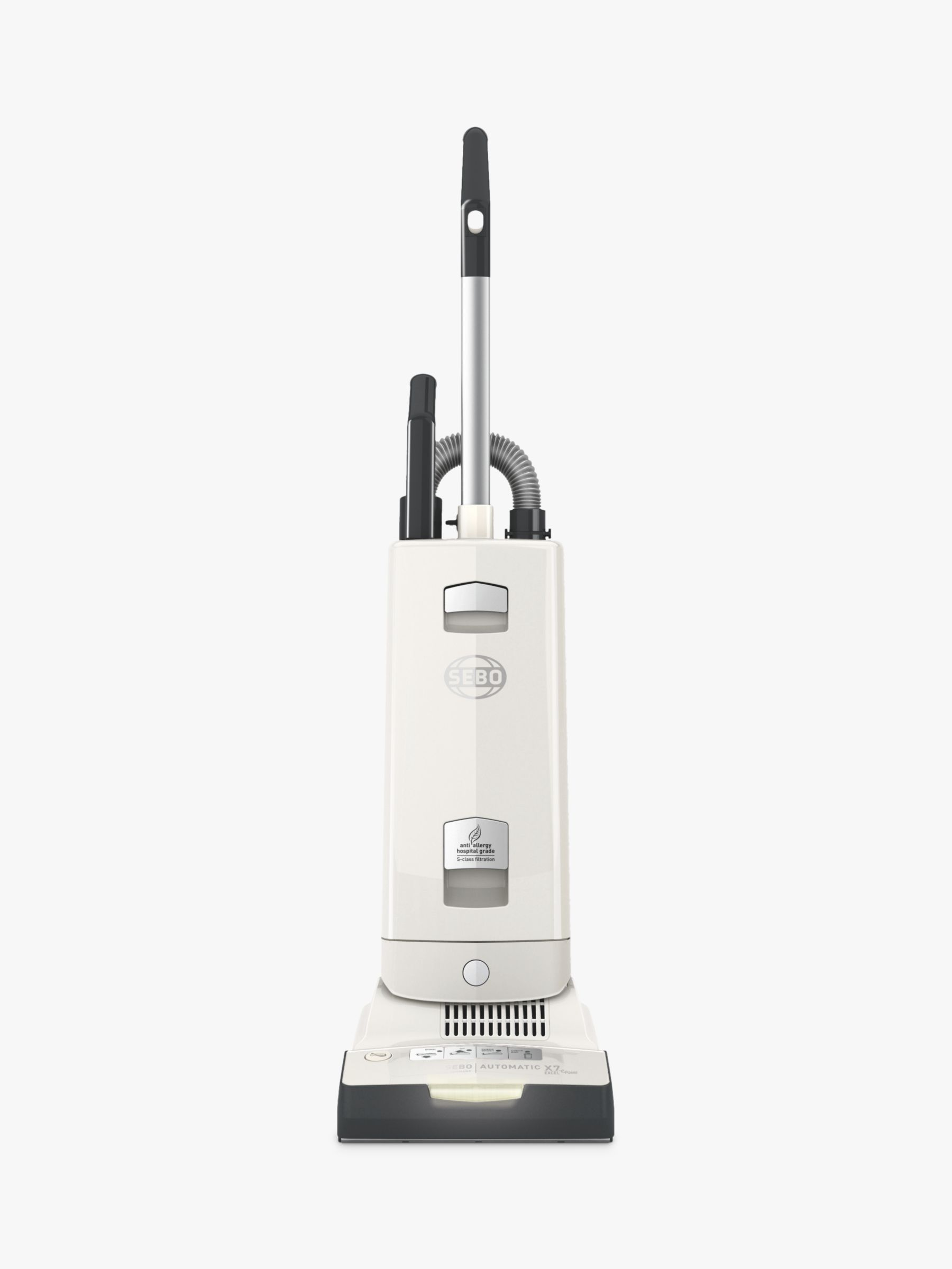 Sebo SEBO Automatic X7 Excel ePower Upright Vacuum Cleaner, White