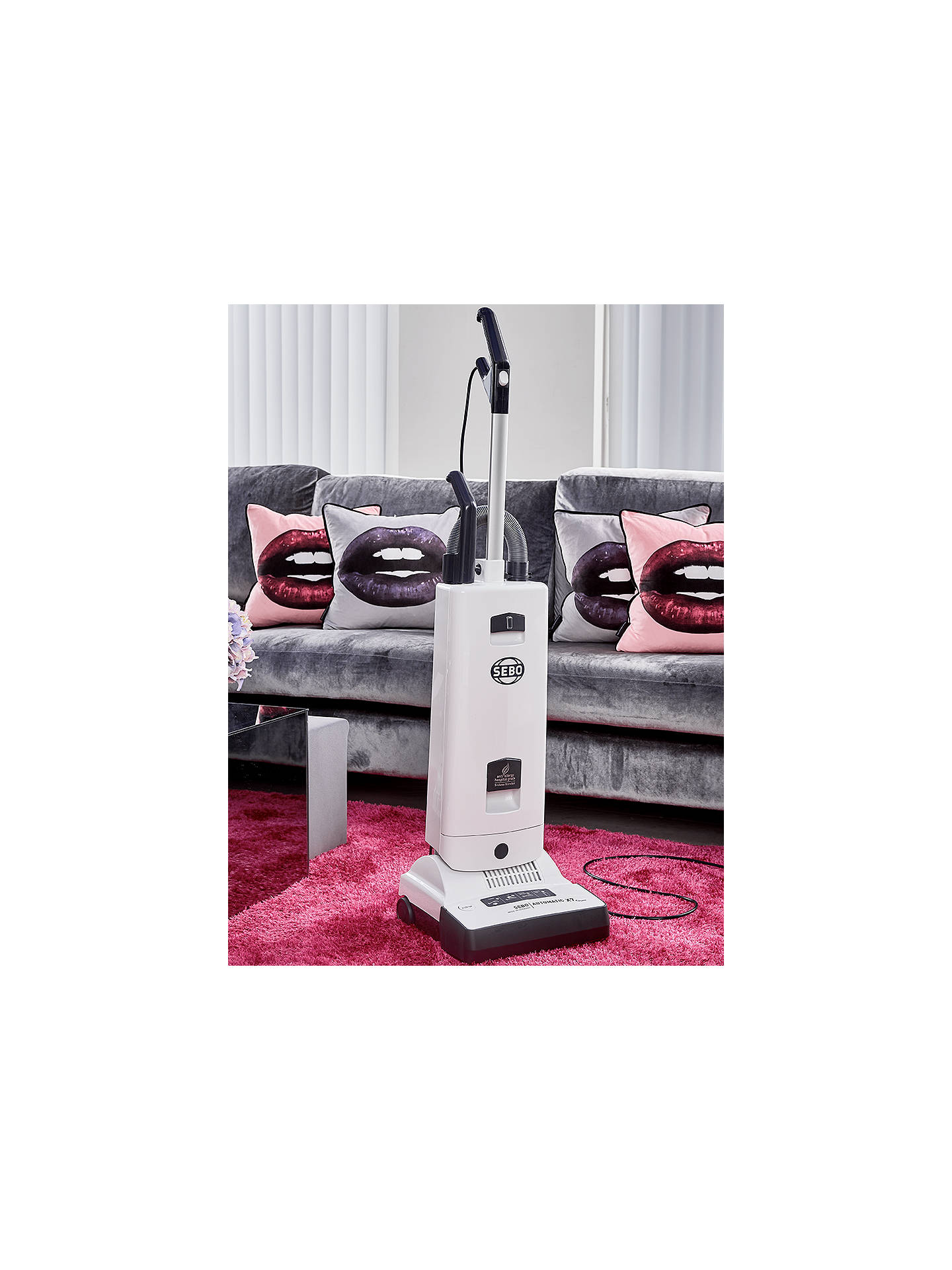 Buy SEBO Automatic X7 ePower Upright Vacuum Cleaner, White Online at johnlewis.com