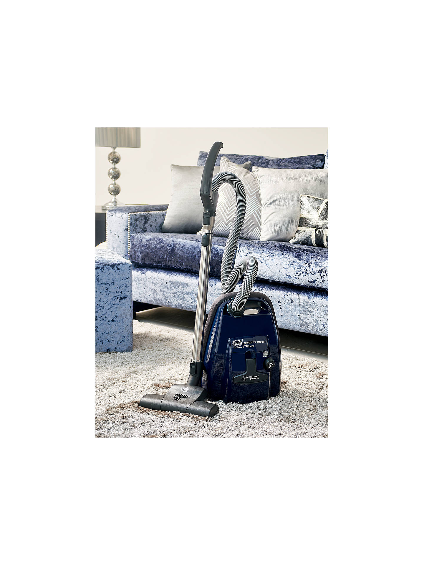 BuySEBO K1 Airbelt Komfort ePower Vacuum Cleaner, Blue Online at johnlewis.com