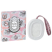 Buy Diptyque Scented Oval, Rose Delight, 35g Online at johnlewis.com