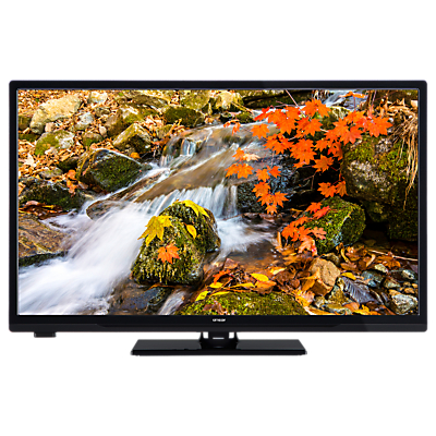 Image of Linsar 43LED800 LED Full HD 1080p Smart TV/DVD Combi, 43 with Built-In Wi-Fi, Freeview HD & Freeview Play, Black