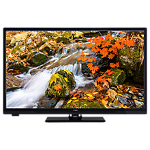 "Buy Linsar 43LED800 LED Full HD 1080p Smart TV/DVD Combi, 43"" with Built-In Wi-Fi, Freeview HD & Freeview Play, Black Online at johnlewis.com"