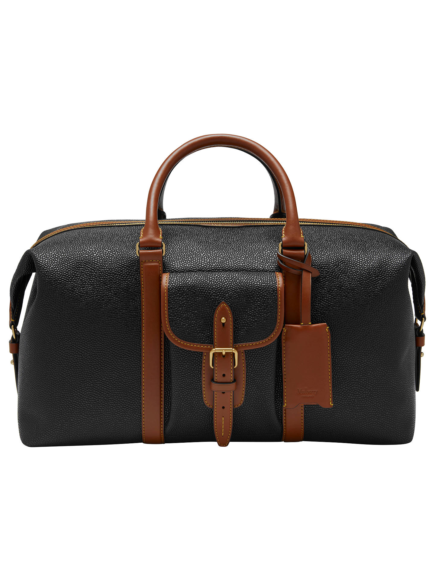 9748babc609b ... germany buymulberry heritage scotchgrain weekend bag black online at  johnlewis 0055e 0375d