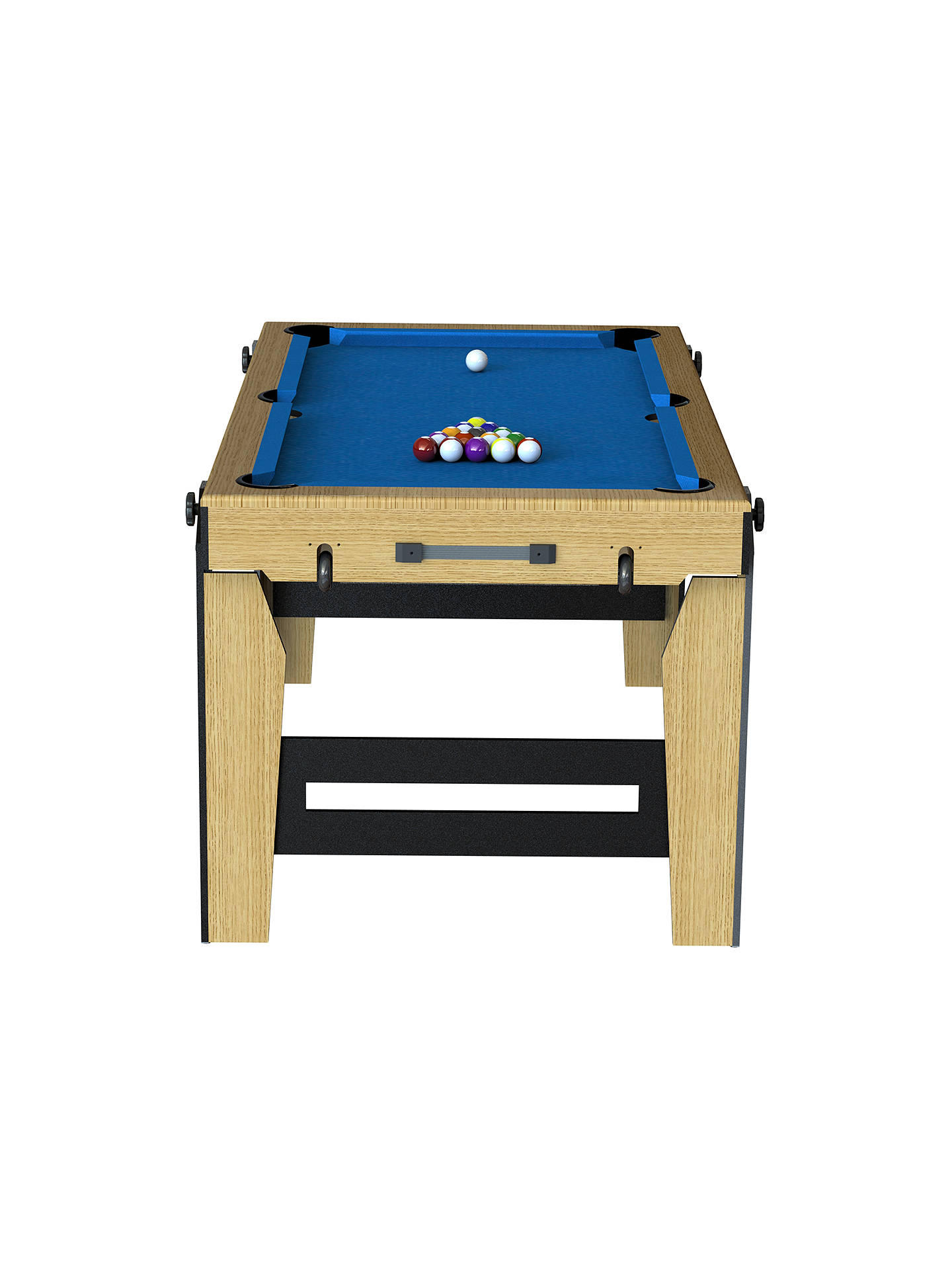 Buy BCE Razor Rolling Lay Flat 5ft Pool Table, Blue Online at johnlewis.com