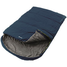 Buy Outwell Campion Lux Double Sleeping Bag, Blue Online at johnlewis.com