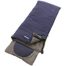 Buy Outwell Contour Junior Single Sleeping Bag, Royal Blue Online at johnlewis.com