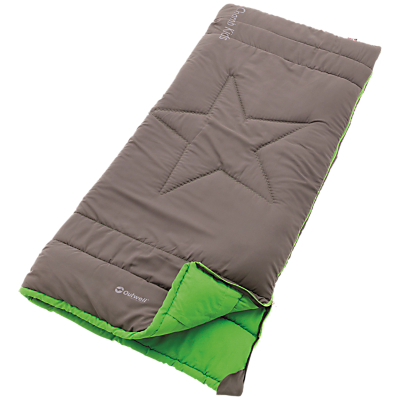 Image of Outwell Champ Kids Childrens' Sleeping Bag, Grey/Green
