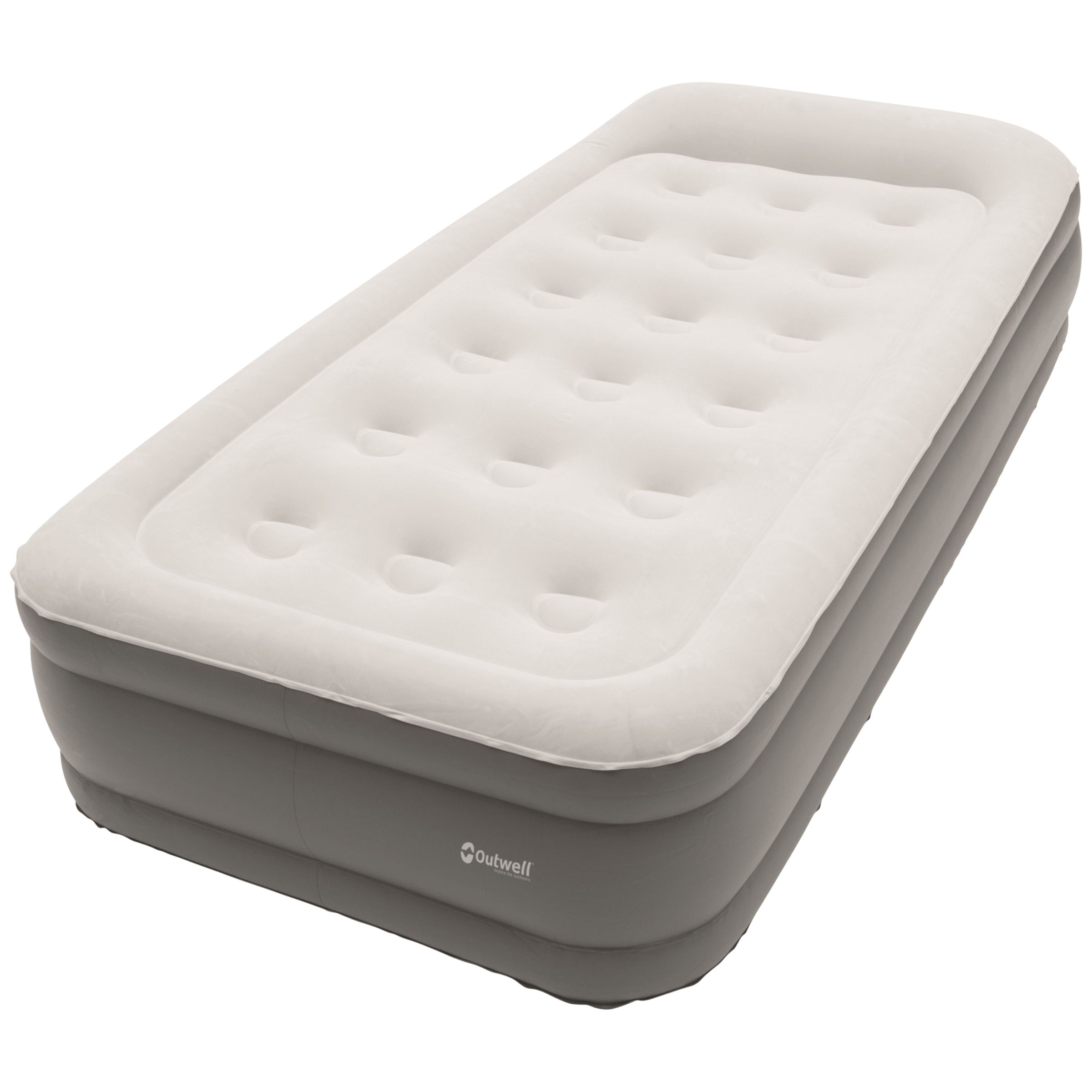 Outwell Outwell Flock Superior Single Airbed With Built-In Pump