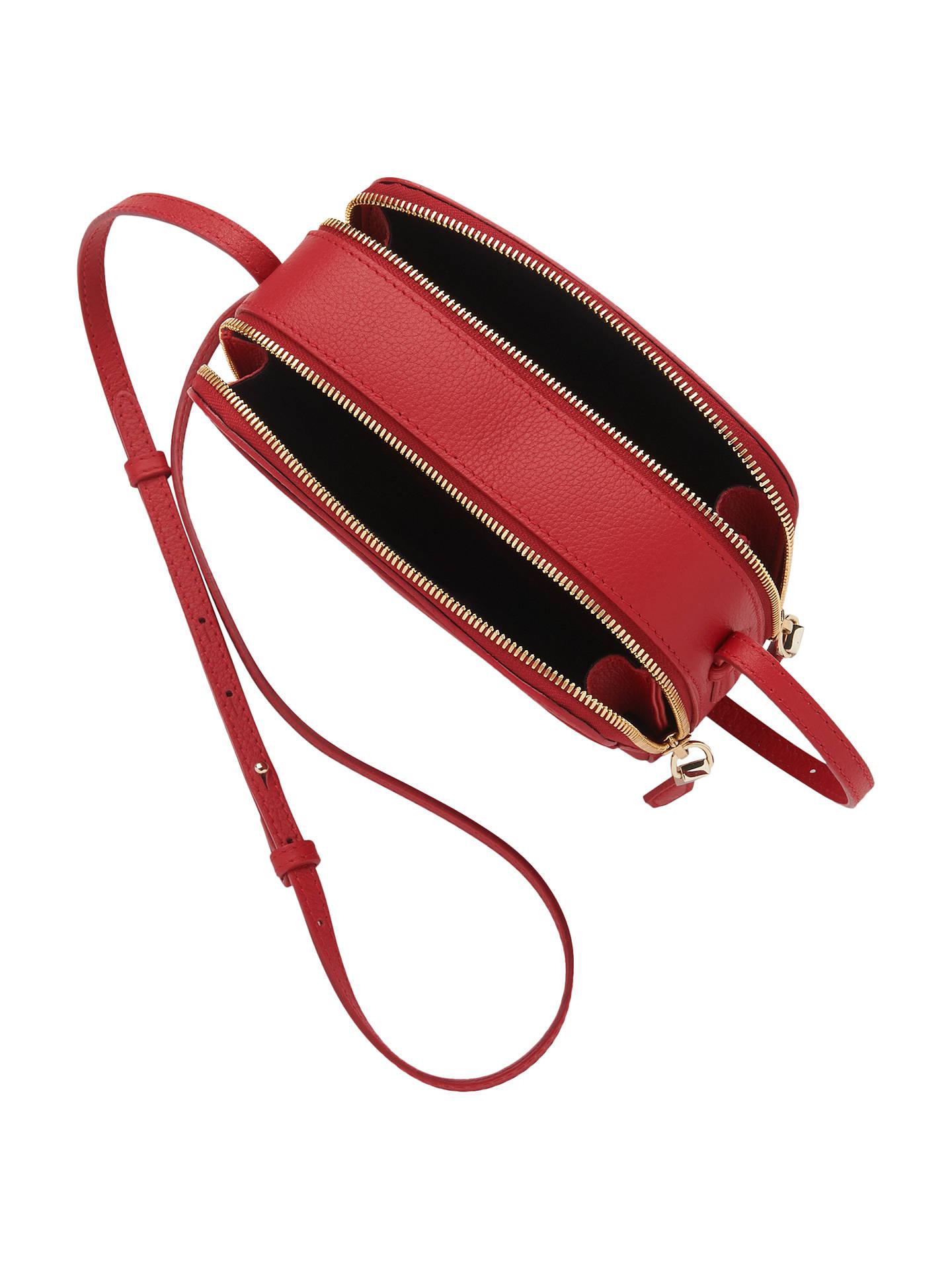 ec5bf72f6998 ... Buy L.K.Bennett Mariel Leather Cross Body Bag, Red Online at  johnlewis.com ...